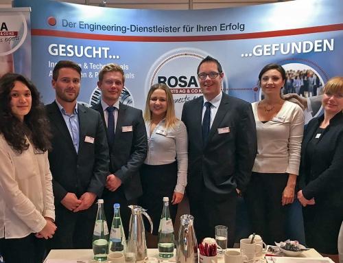 Darmstadt 2017 wieder Schlusspunkt der ROSA Messeaktivitäten