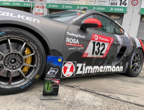 ROSA gratuliert Sieger des 24h Nürburgring Rennens 2021